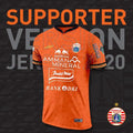 Jersey Supporter Alternate Orange 2020