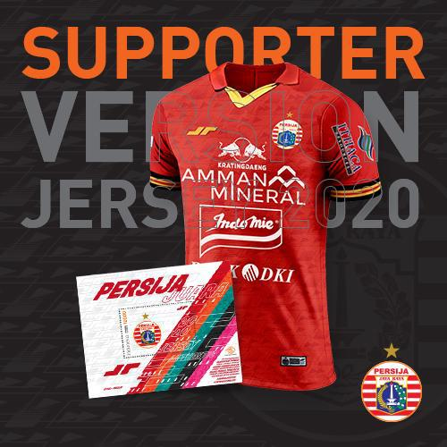 Jersey Supporter Home Red 2020