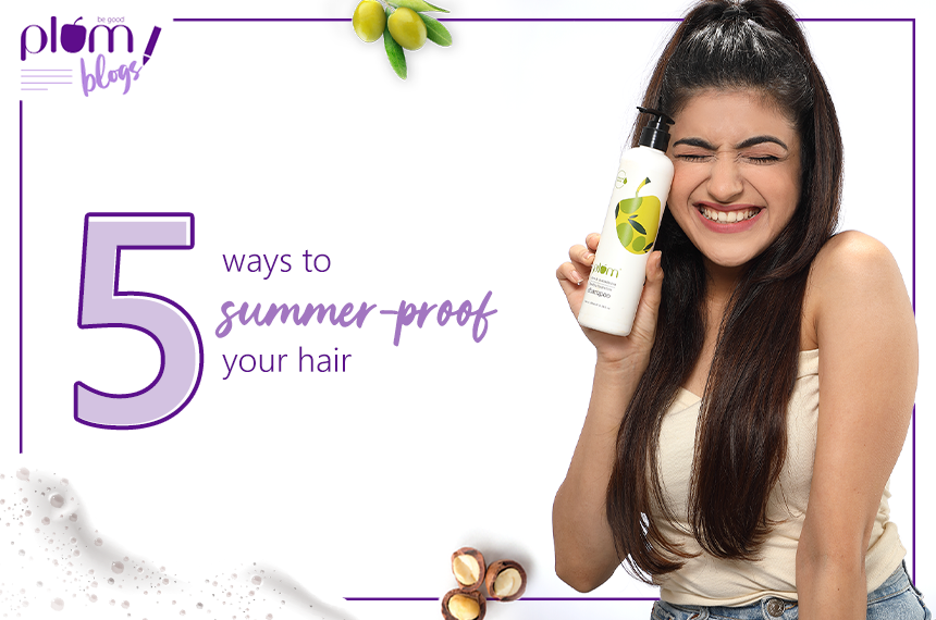 5 tips to get shiny hair this summer