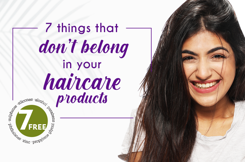 7 Things That Don't Belong in Your Haircare Products