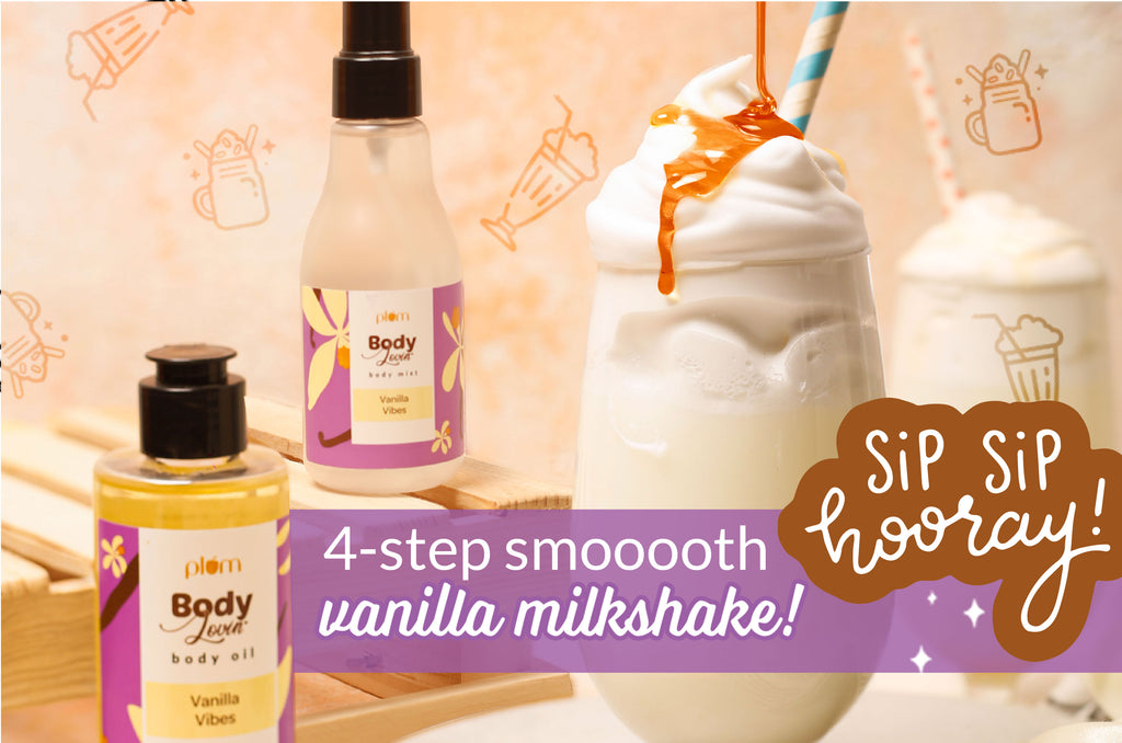 Your new fav summer drink: Vanilla Vibes Milkshake!