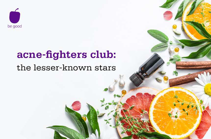 Acne-fighters club: the lesser-known stars