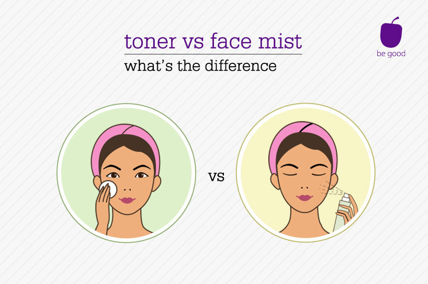 Face mist or toner? What's the difference?