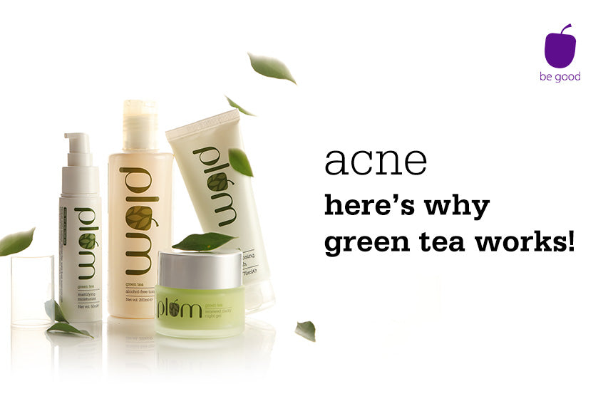 Acne: here's why green tea works!