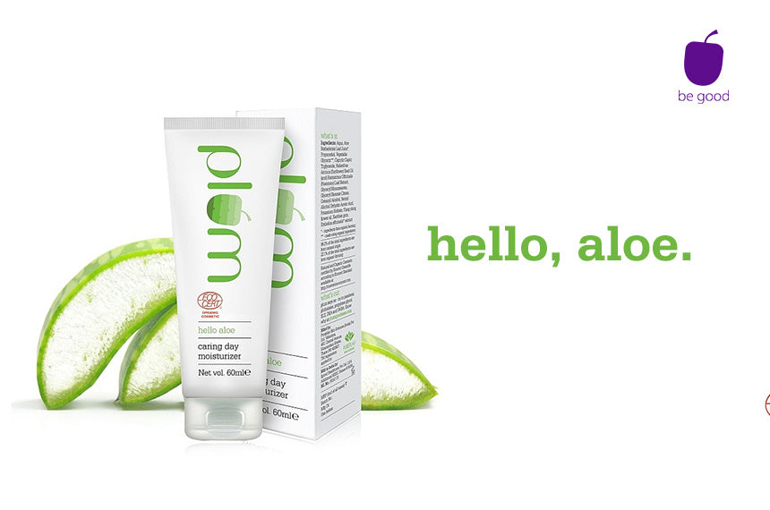 Plum Hello Aloe Caring Day Moisturizer. Now in India!