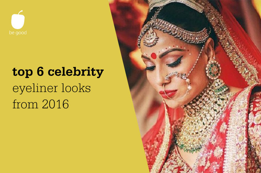 Top 6 Celebrity Eyeliner Looks in 2016