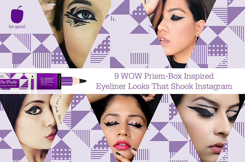 9 WOW Prism-Box Inspired Eyeliner Looks That Shook Instagram