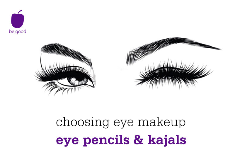 Choosing eye makeup: eye pencils & kajals