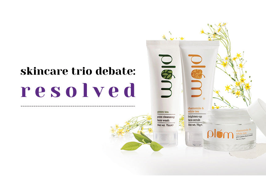 The trusted trio of skincare