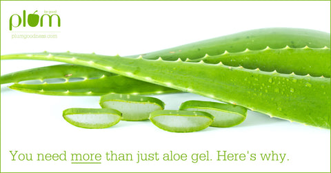 Skin feels dry after using aloe vera gel
