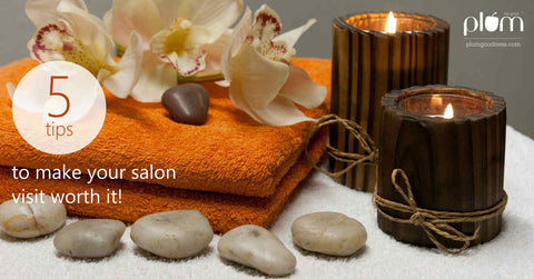 Salon beauty tips