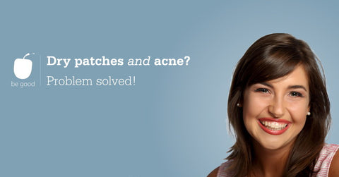 Dry patches with acne? Problem solved!