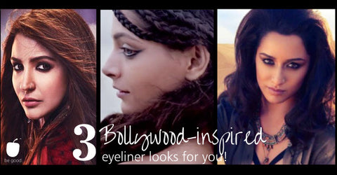 3 Bollywood Inspired Kohl & Eyeliner Looks for You