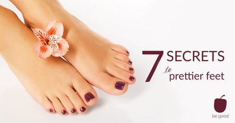7 secrets to prettier looking feet