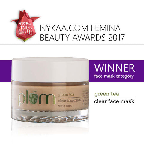 Plum green tea mask Nykaa Femina Beauty Awards 2017
