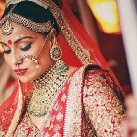 Bipasha Basu's Wedding Day Look