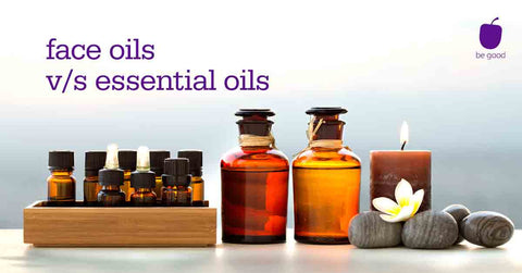 "6 ""essential"" differences between face oils & essential oils"
