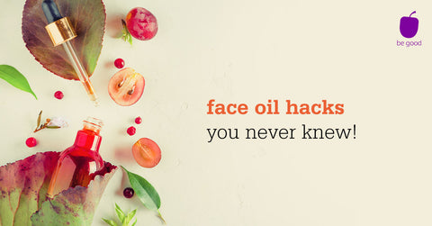 Plum face oil hacks