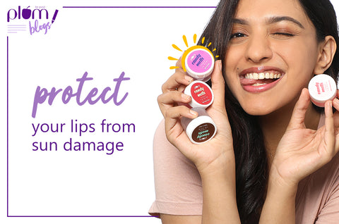 Protect your lips from sun damage