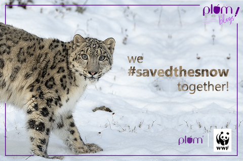We saved the snow leopards together!