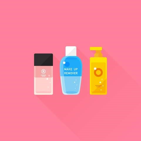 What are the different types of makeup removers?