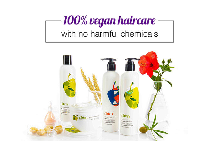 Buy Best Hair Care Products In India Online Plum Goodness Tagged Hair Mask