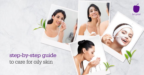 Plum Step-by-step guide of oily & acne-prone skin