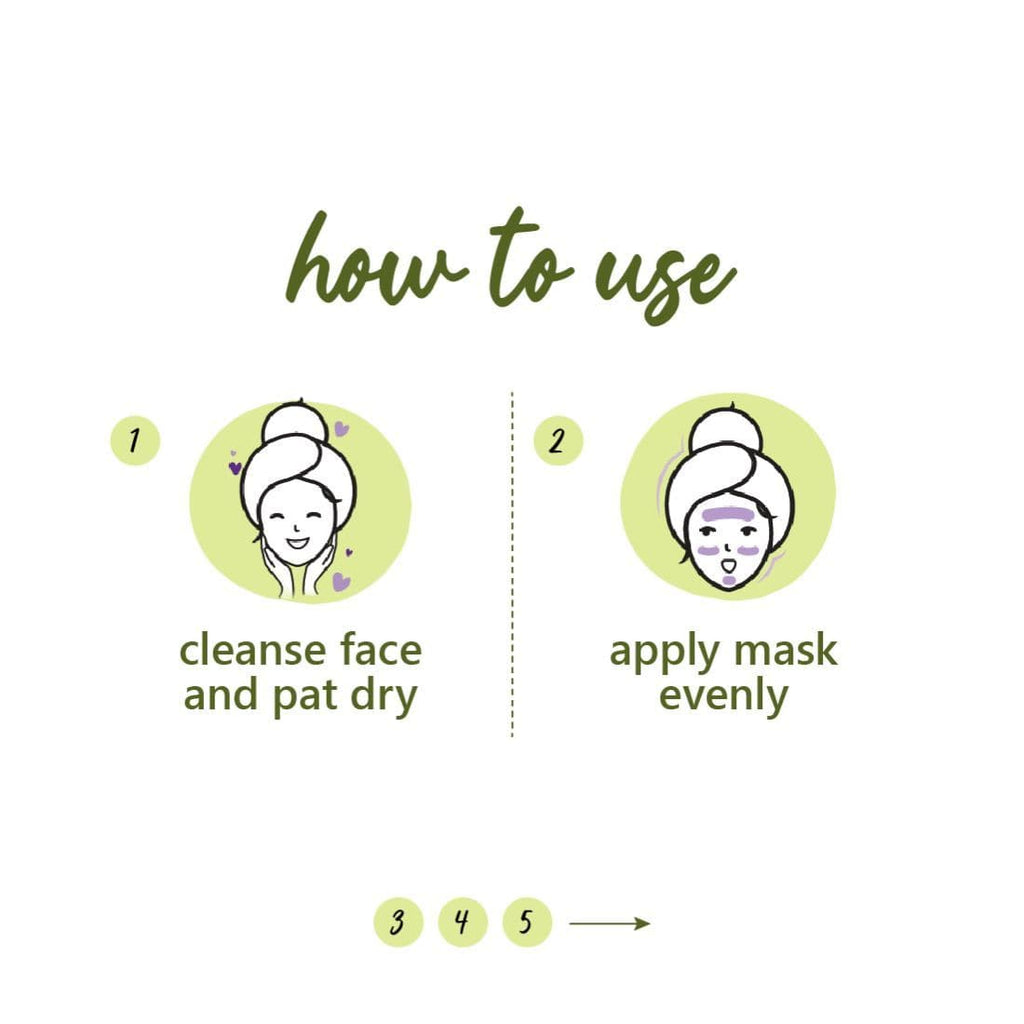 Green Tea Clear Face Mask  | Clay Mask For Oily Skin | 100% Vegan