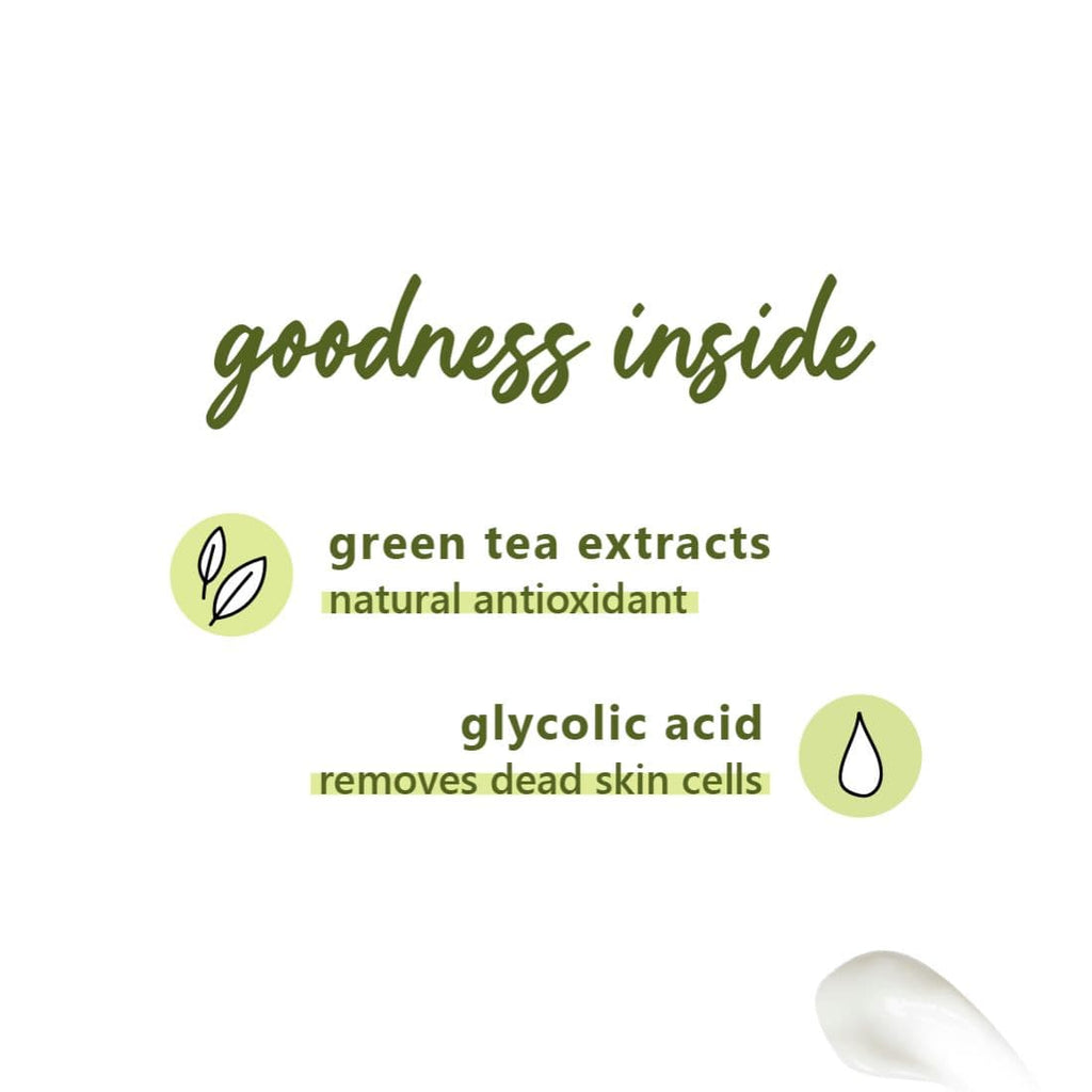 Green Tea Mattifying Moisturizer | Oily, Acne-Prone Skin | SLS-Free, 100% Vegan