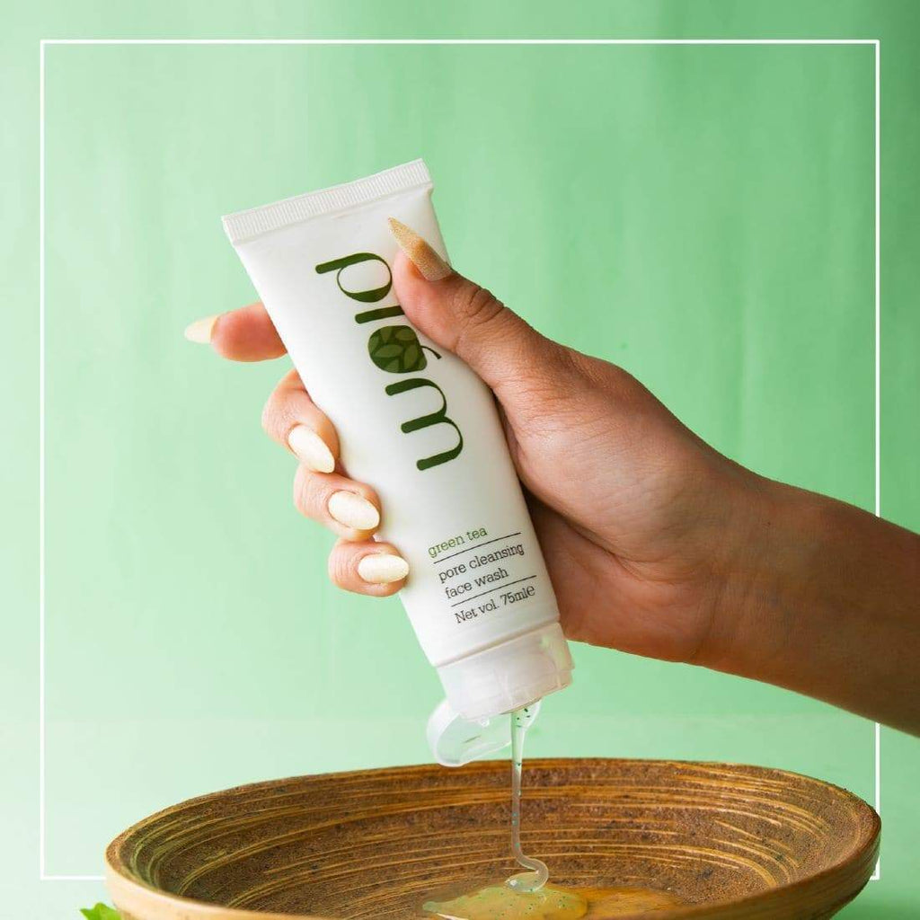 Green Tea Pore Cleansing Face Wash  | Oily, Acne-Prone Skin | Soap-Free