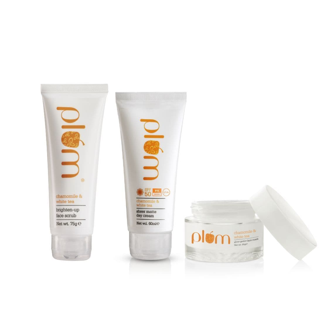 Ban The Tan Combo - SPF50 + Face Scrub + Face Mask
