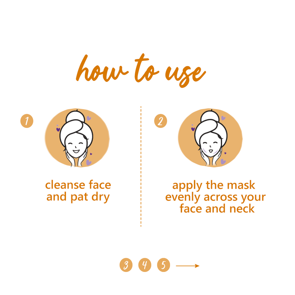 Chamomile & White Tea Glow-Getter Face Mask | Clay Mask | For Normal, Dry, Combination Skin