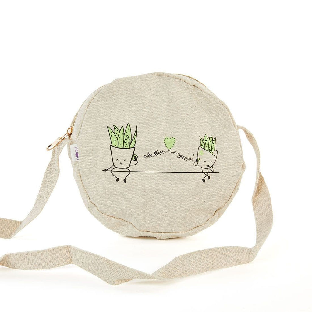 'Aloe There Gorgeous Canvas Bag