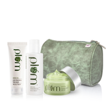 Green Tea CTM Essential Kit for Oily Skin - Limited Edition | Oil-control and Acne-Fighting Kit | Free Marble Pouch
