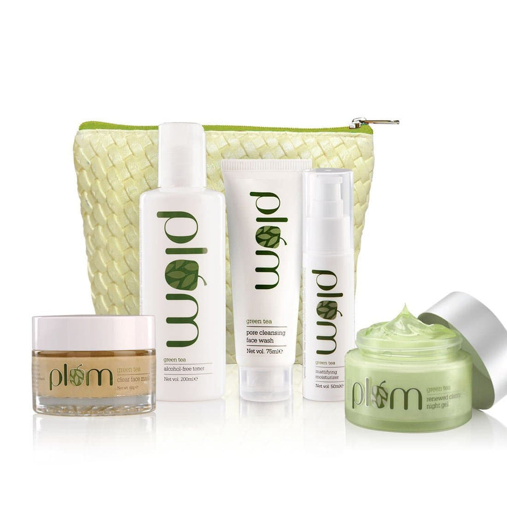 Green Tea Face Care Set: Exclusive