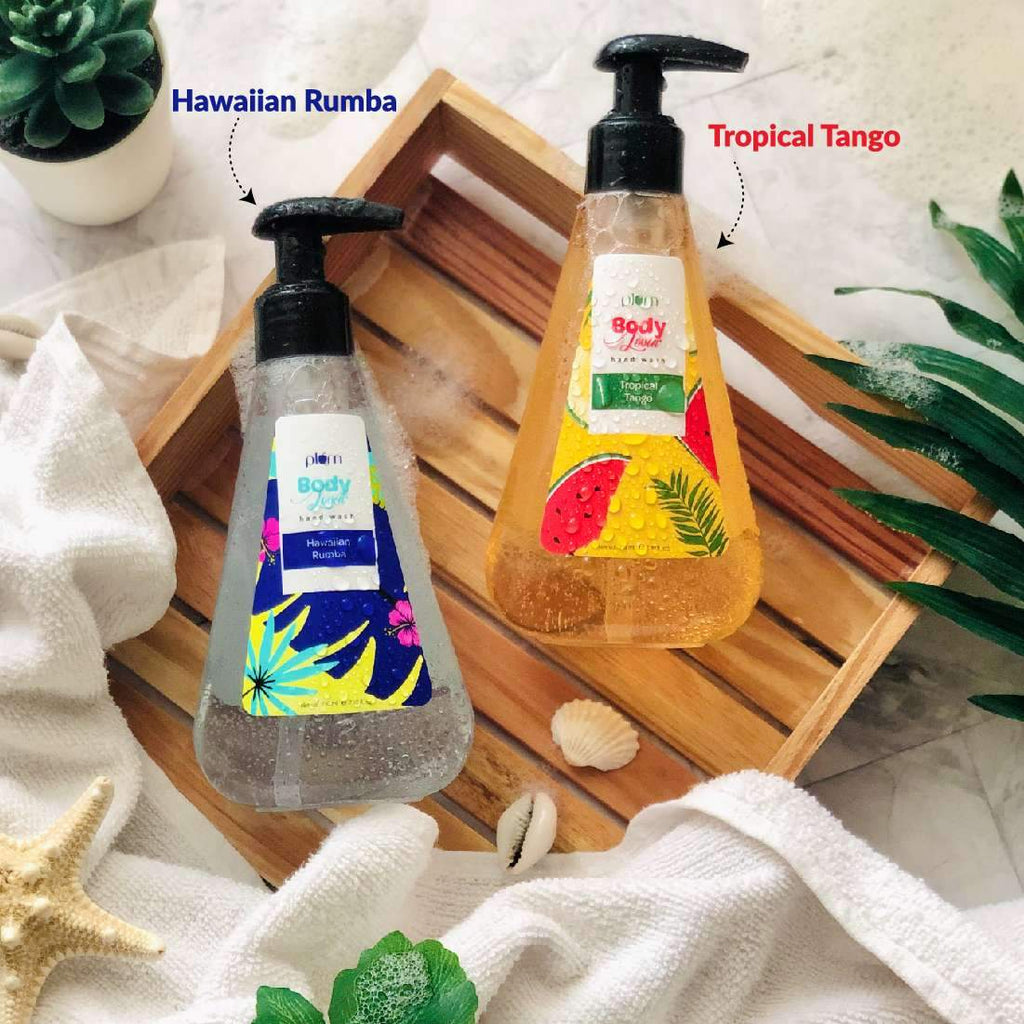 Plum BodyLovin' Hawaiian Rumba Hand Wash | Anti-Bacterial| Sulphate- Free | Non-Drying