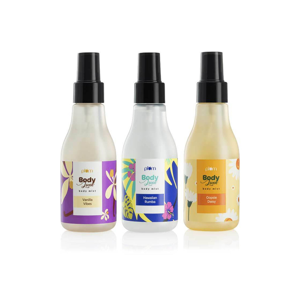 Sweet-Floral-Beachy Body Mist Trio