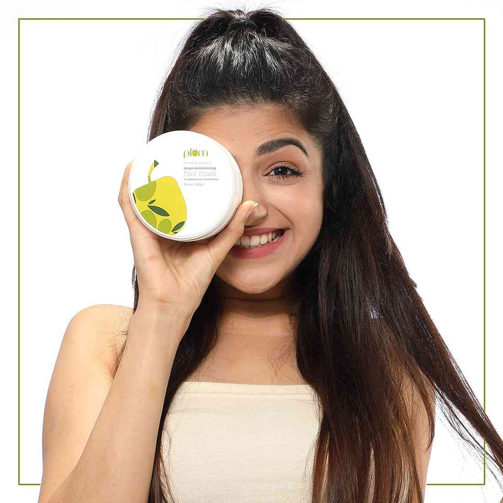 Olive & Macadamia Mega Moisturizing Hair Mask | Hair Spa | Safe for Chemically Treated Hair |100% Vegan