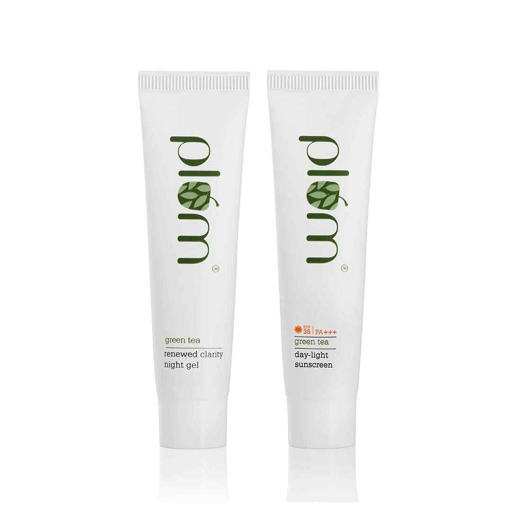 Day & Night Care Gel Duo (SPF + Night Gel)  | Travel-Friendly | Mini Combo