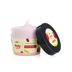 Plum BodyLovin' Drivin' Me Cherry Body Butter | Deeply Moisturizes | Dry to Very Dry Skin | Fruity Fragrance