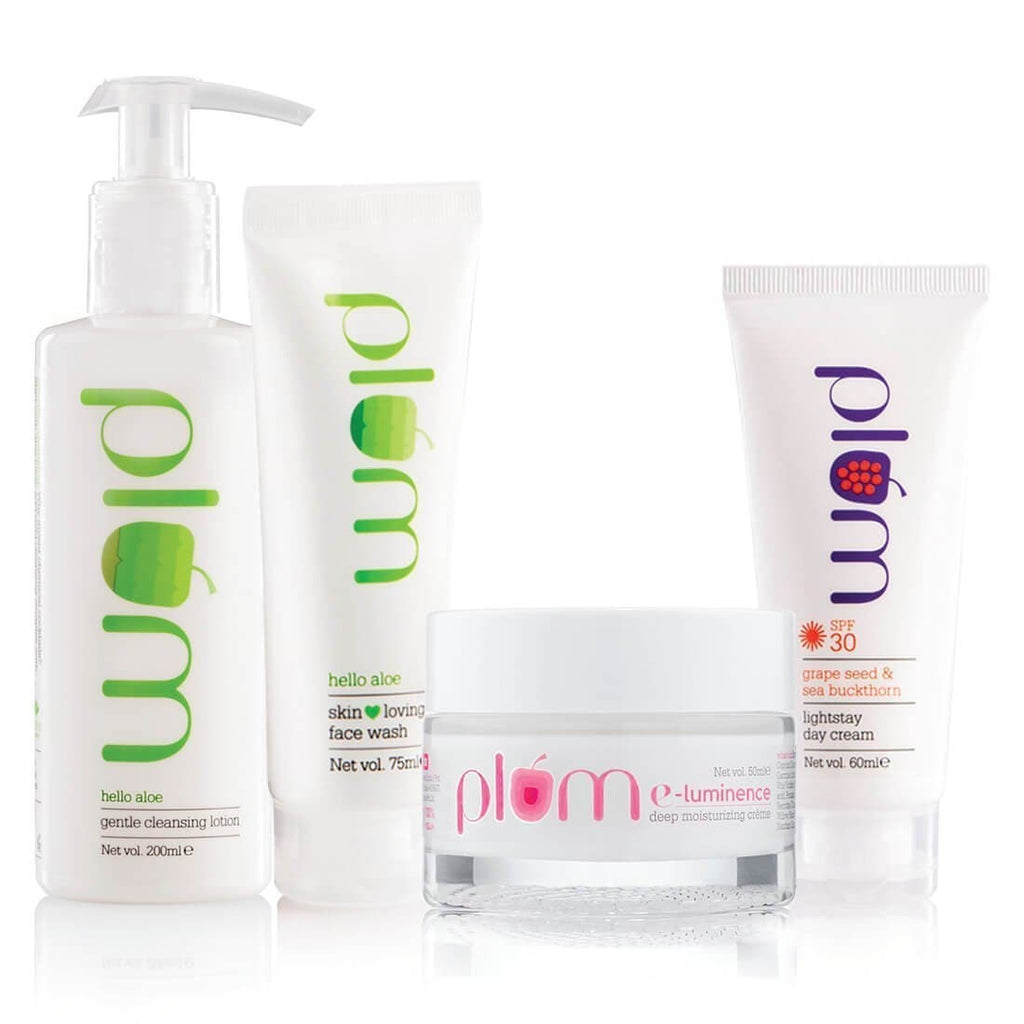 Plum Round-The-Clock Bundle for Very Dry Skin