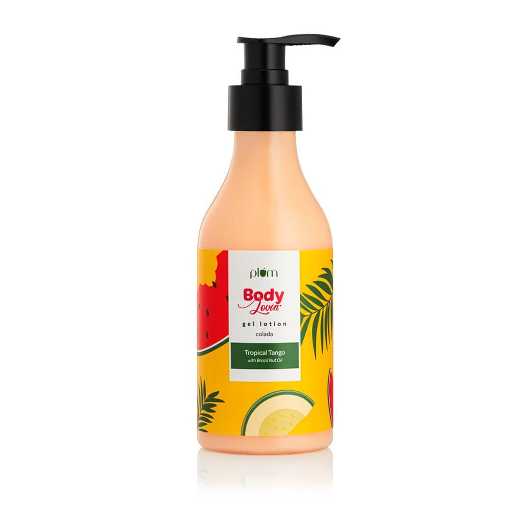 Plum Tropical Tango Body Lotion For Glowing Skin