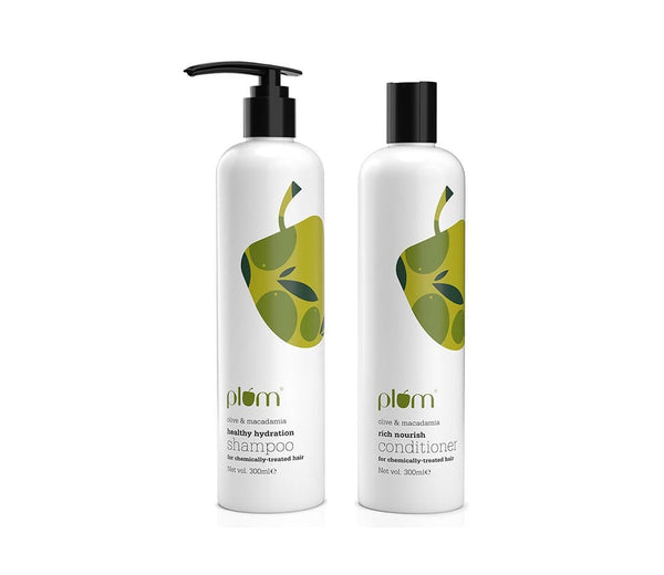 Plum Cleanse + Nourish Duo for Damaged Hair
