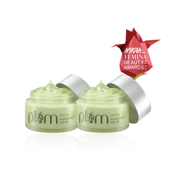 Green Tea Night Gel - Twin Pack