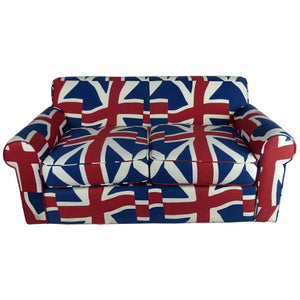 2 seater sofa Union jack