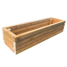 Load image into Gallery viewer, Certified Battens Four Slat Window Box