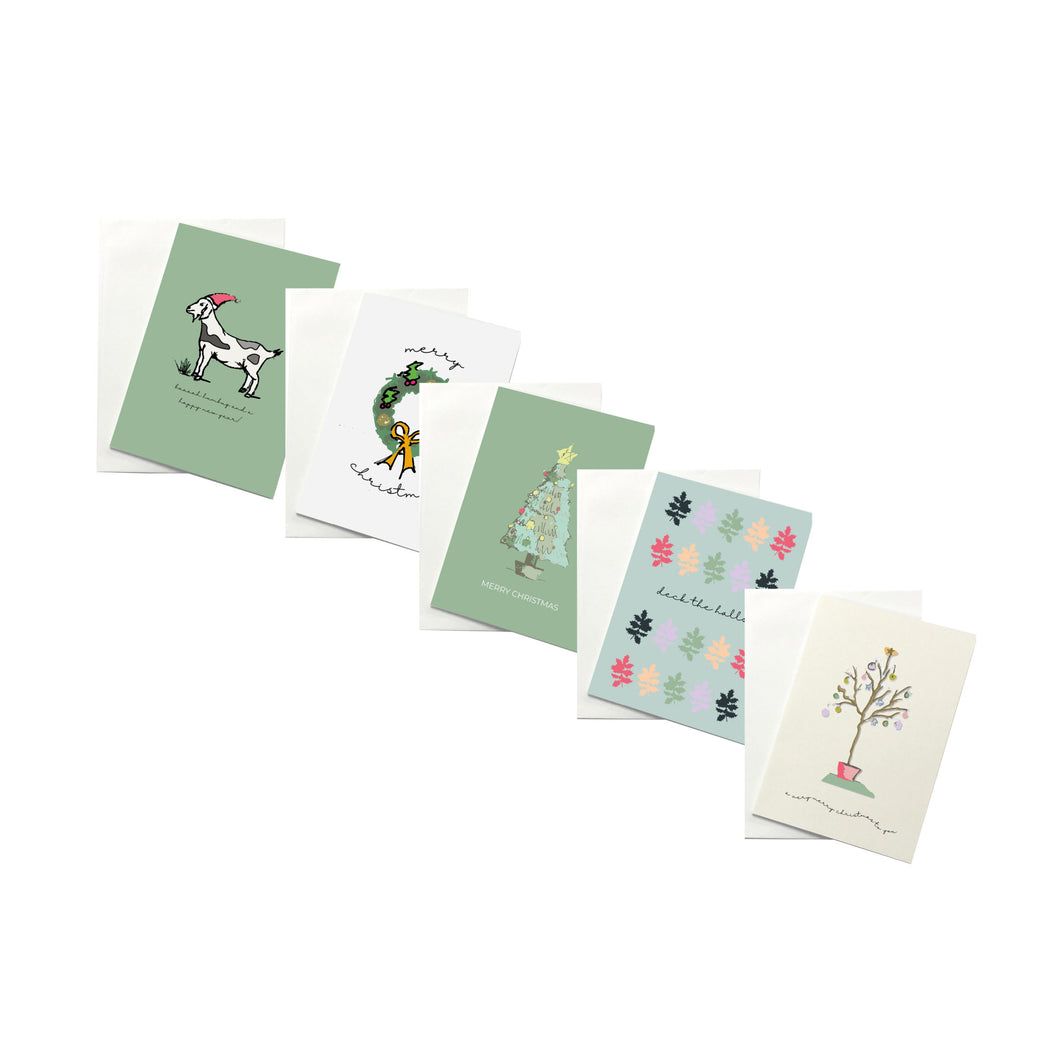 Christmas Cards - Living Windows Combo Pack