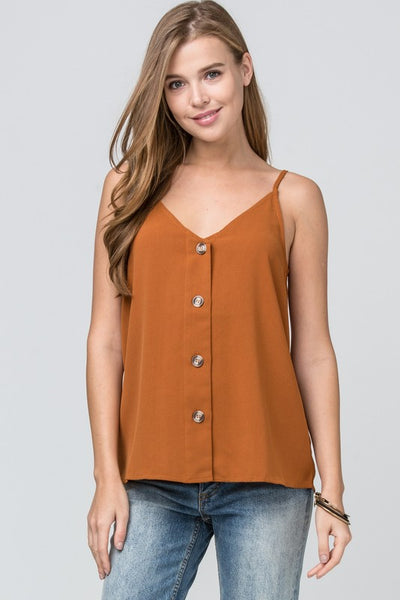 Camel Camisole Top