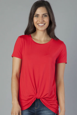 Red Julia Top