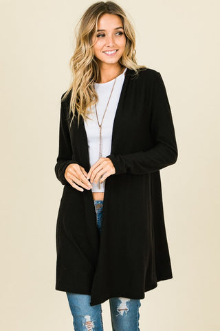 Black Hacci Cardigan
